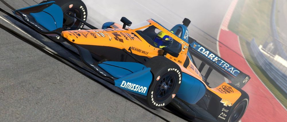 Lando Norris Was Invited To Take Part In IndyCar's iRacing Challenge... And He Won