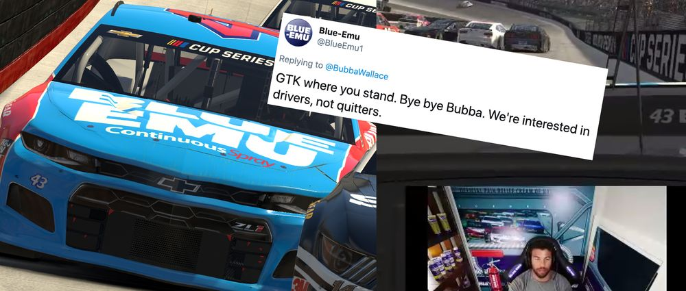 A Nascar Driver Lost An Actual Sponsor After Rage Quitting On iRacing