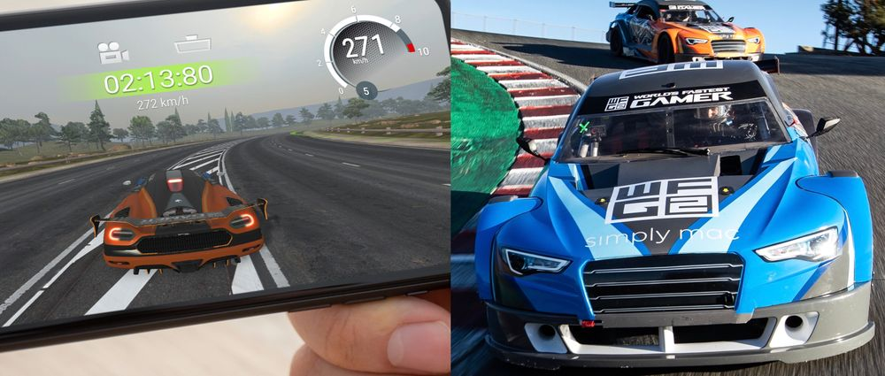 You Can Win The Chance To Drive Real Race Cars By Being Good At A Mobile Game