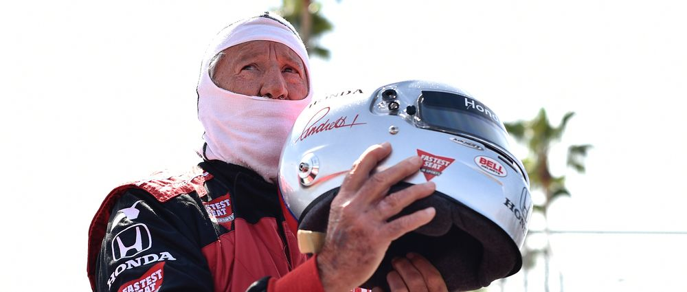 Mario Andretti Will Compete At Indy In This Week's Legends Trophy