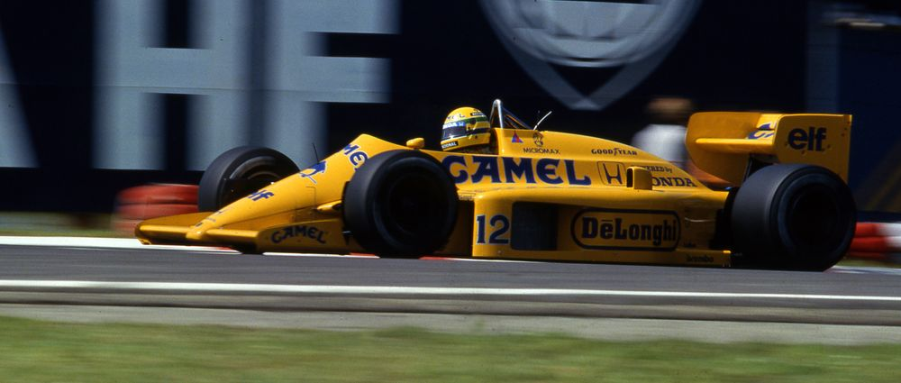 On This Day In F1 - A Lotus Started From Pole Position For The Final Time