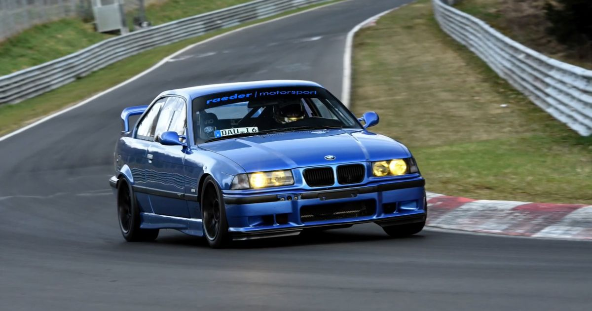 Fastest E36 M3 On The Nordschleife
