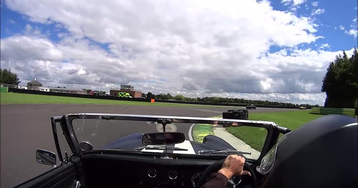 Mg Midget Attacks Croft Circuit Self Built 1400 K Series Conversion