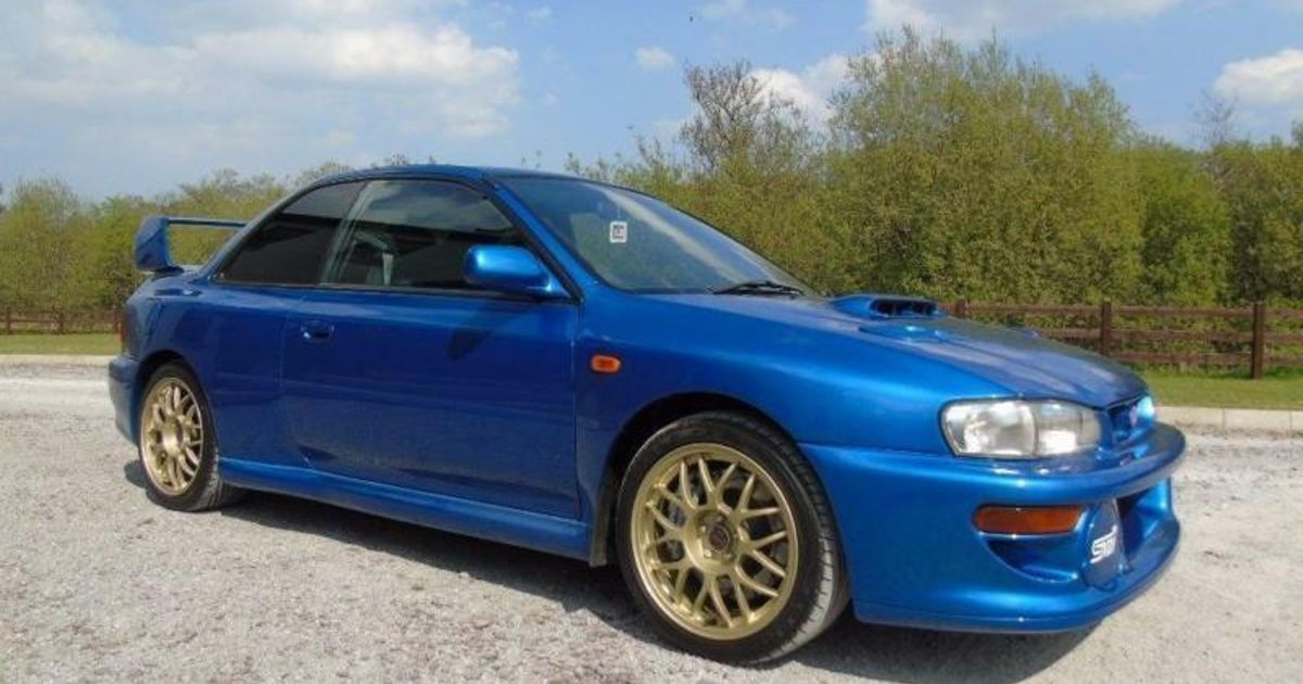 Spotted This Ultra Rare Subaru Impreza 22b For Sale 1 Of Only 16