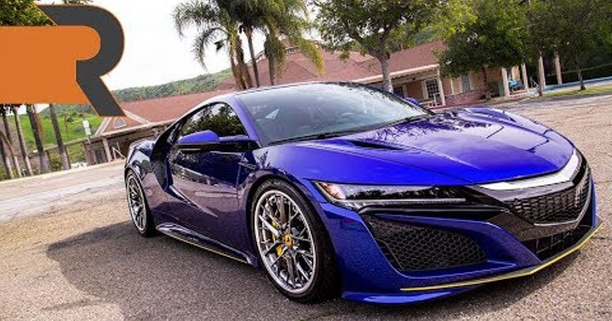 The Modified Blue Pearl 2017 Acura Nsx On Ilift Air Suspension Hi Officer