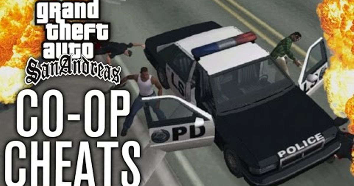 CO-OP CHEATS?! | GTA San Andreas PS4 Gameplay w/ The