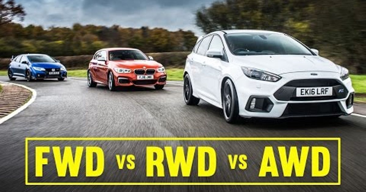awd vs fwd vs rwd focus rs civic type r m140i track battle. Black Bedroom Furniture Sets. Home Design Ideas