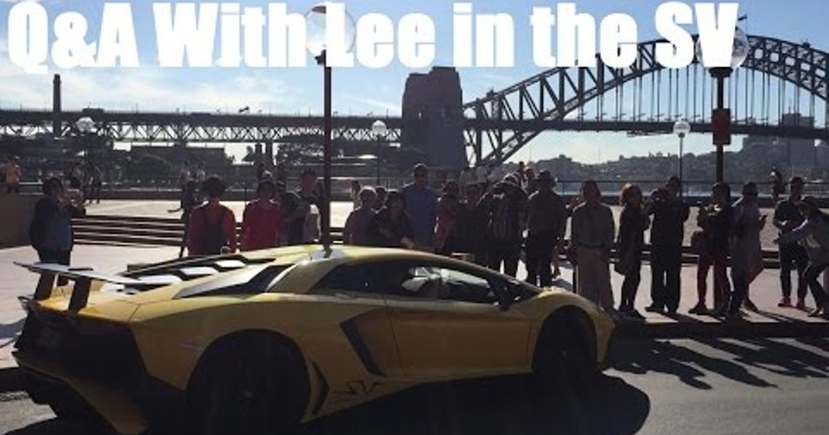 Q A With Lee From Supercar Advocates In The Sv