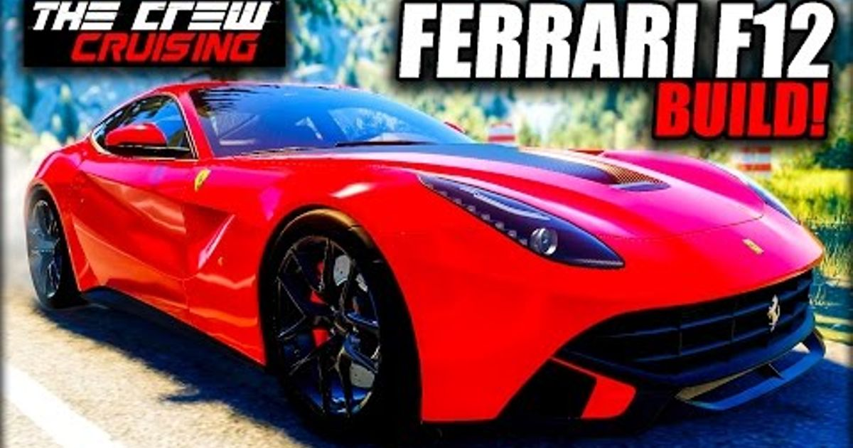 I Return To The Crew Build Performance Spec Ferrari F12 Berlinetta With Quite Possibly Most Even Backside On Planet