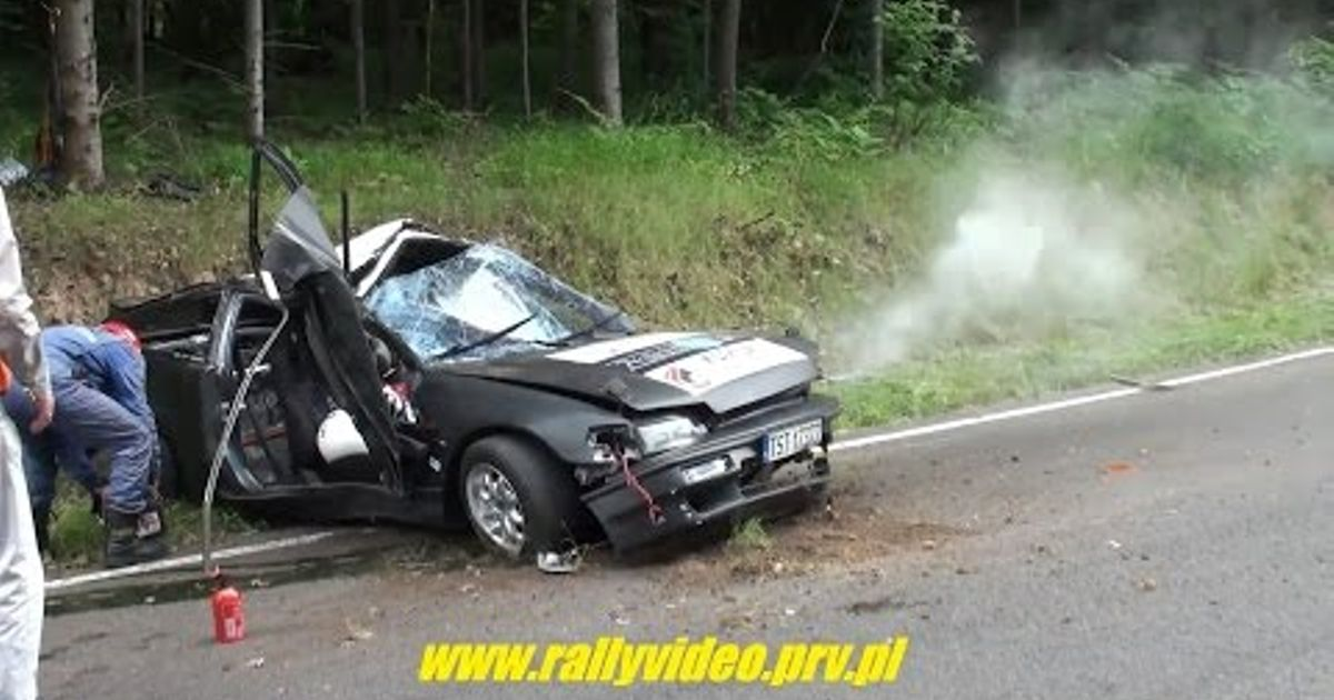 We All Love These Polish Amateur Rallye Crashes New
