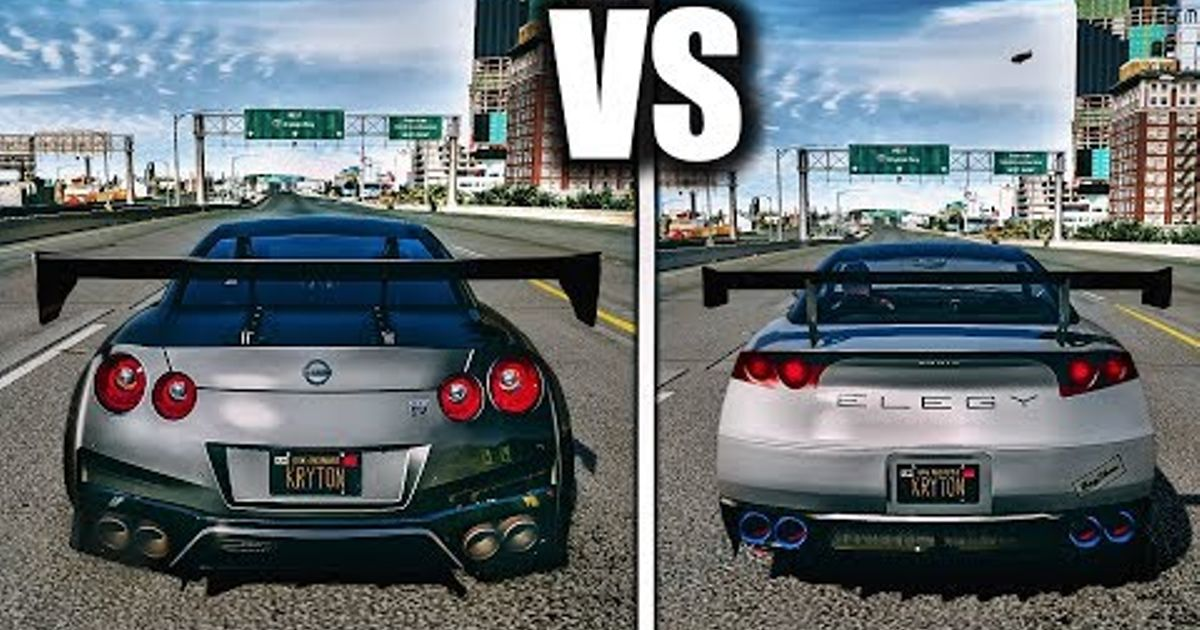 GTA V Cars and their real life