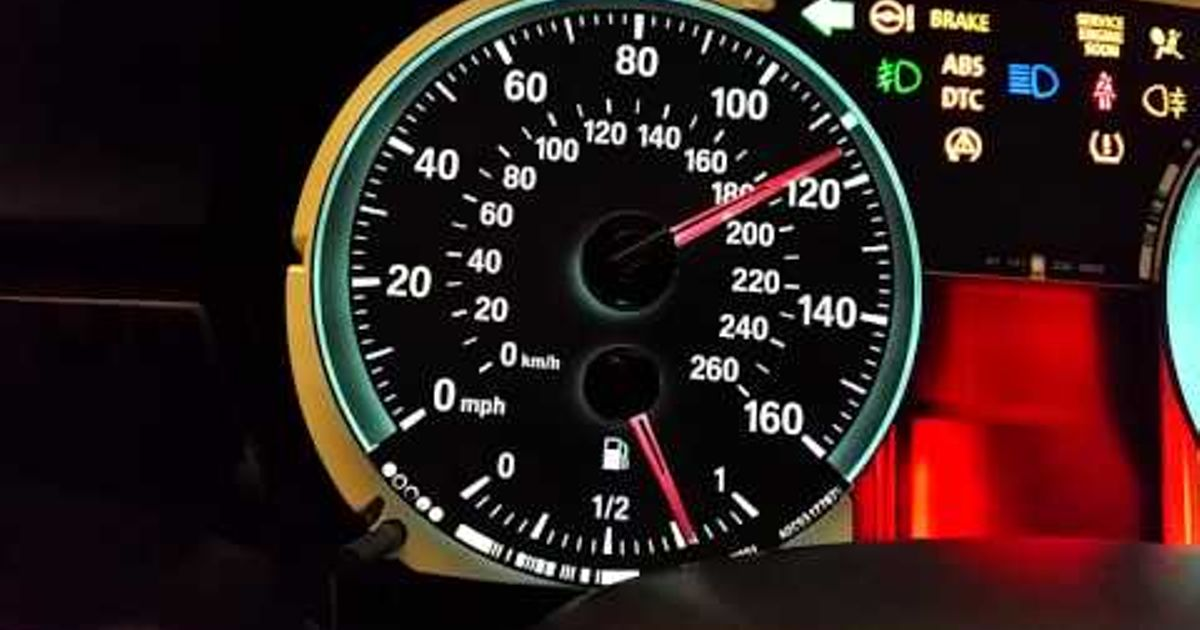 Here's how to do an instrument cluster test on your E90