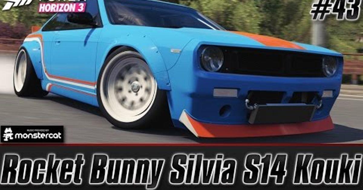 Rocket Bunny V2 The Boss Nissan Silvia S14 Kouki Drift Build