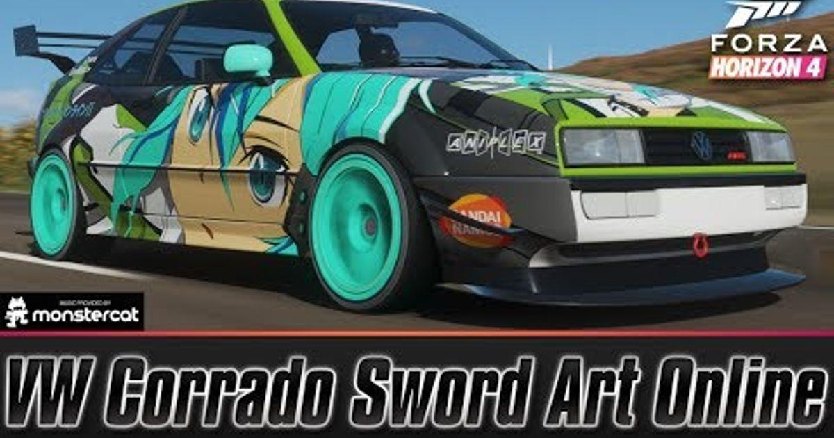 Volkswagen Corrado VR6 Sword Art Online Sinon AWD Grip