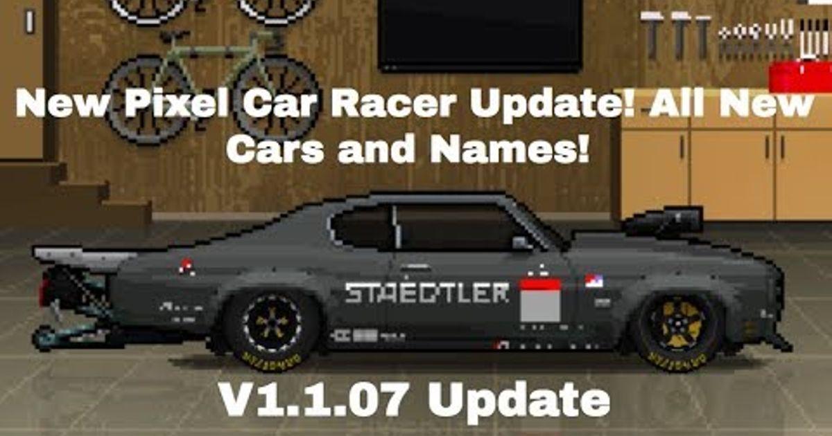 new pixel car racer update