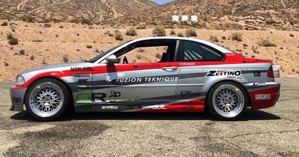 LS Swapped BMW E46 M3 - (Drift) One Take