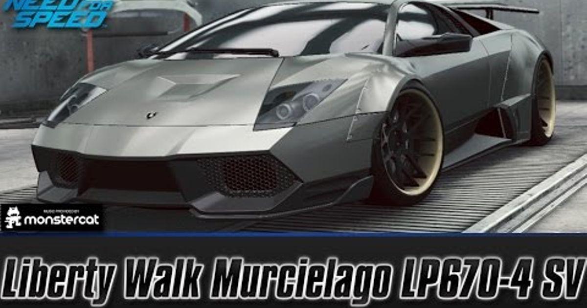 Liberty Walk Lamborghini Murcielago Lp670 4 Sv Customization