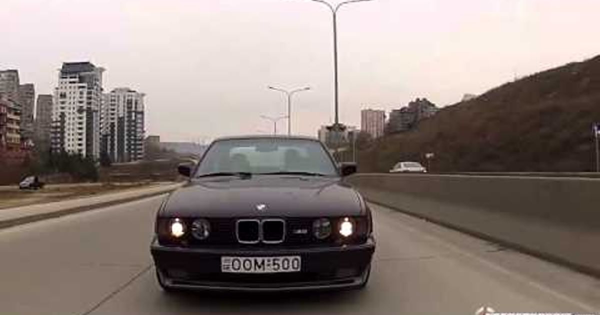 Who Remembers Giorgi Tevzadze And His E34 M5 Gotta Love This Guy Even Though It Was Dangerous