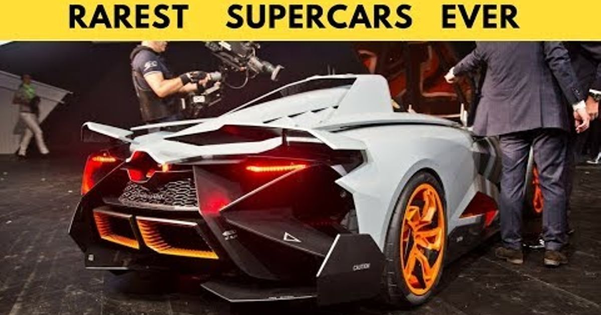 TOP 10 RAREST Supercars Ever