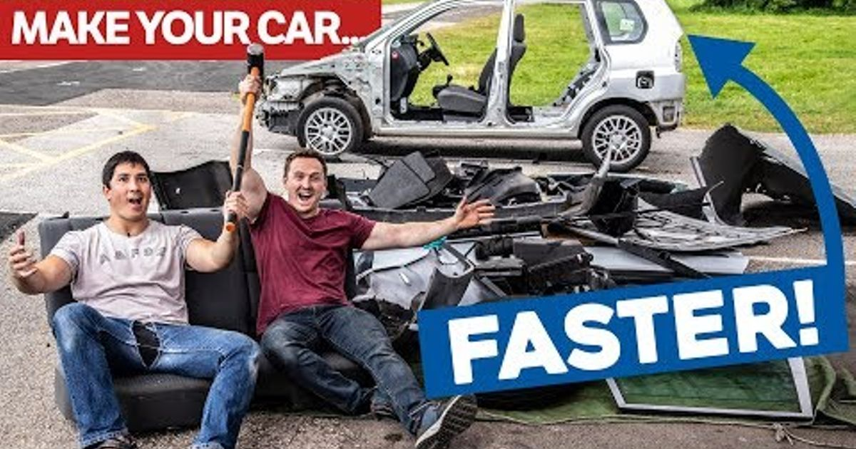 How To Make Your Car Faster >> How To Make A Slow Car Fast For Free