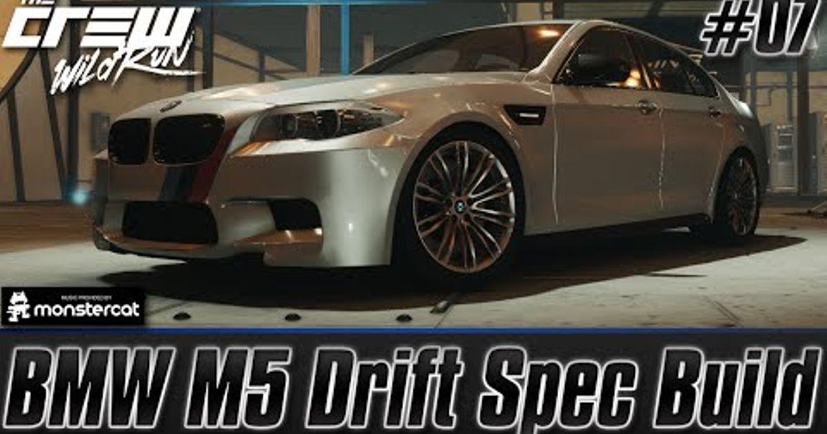 bmw m5 sleeper drift car build the crew wild run. Black Bedroom Furniture Sets. Home Design Ideas