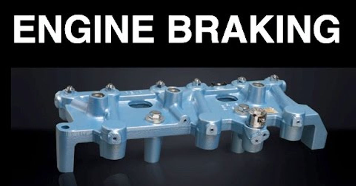 What is a jake brake? What is engine braking?