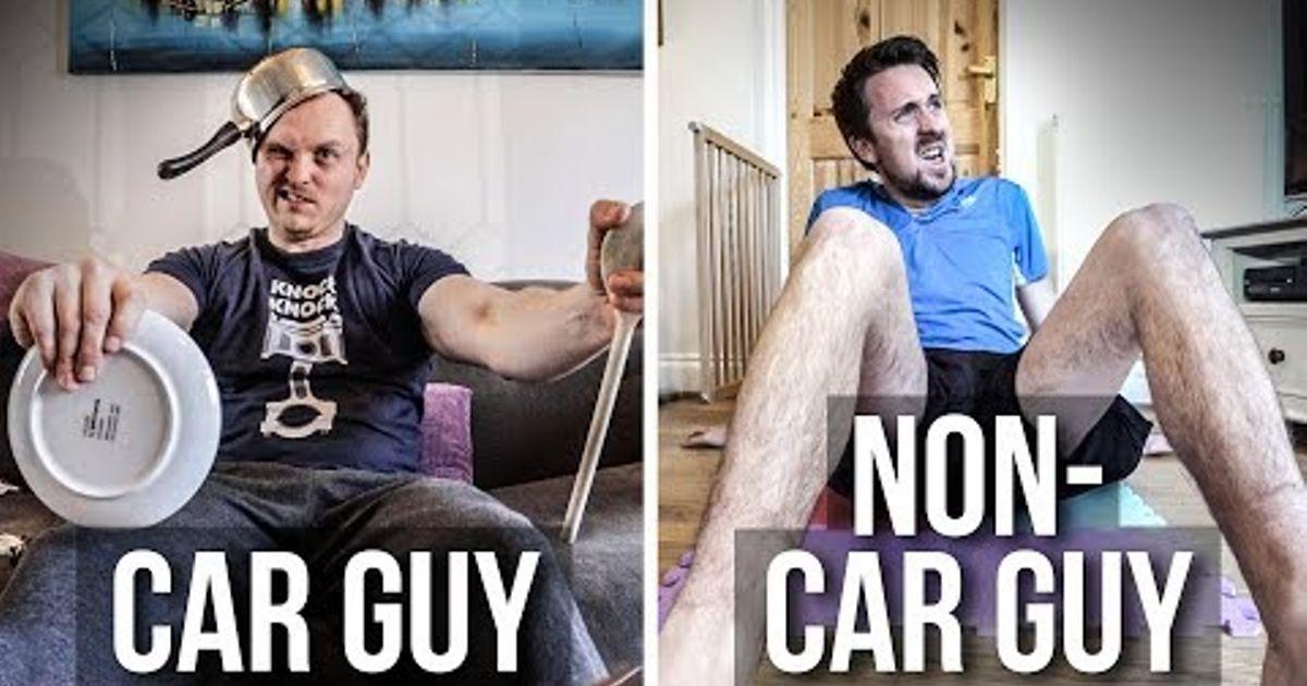 Car Guys Vs Non-Car Guys: Stuck At Home