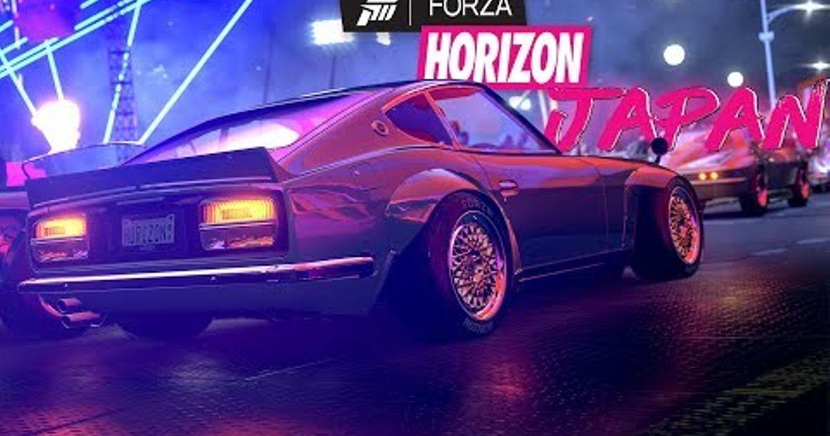 FORZA HORIZON 4 SET IN JAPAN CONFIRMED?