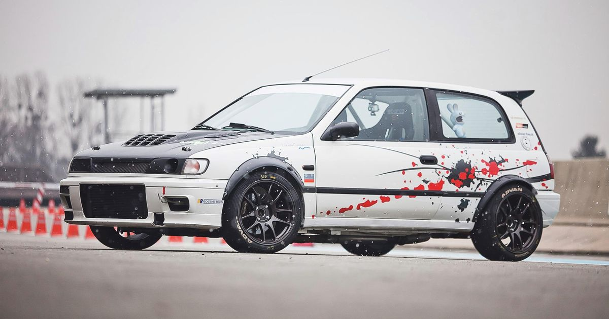 awd nissan pulsar gti r with a rb26. Black Bedroom Furniture Sets. Home Design Ideas