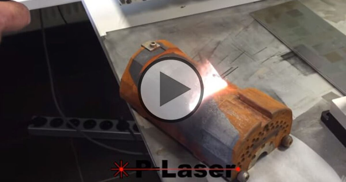 P Laser Qf 1000 High Power Laser Cleaning For Rust And