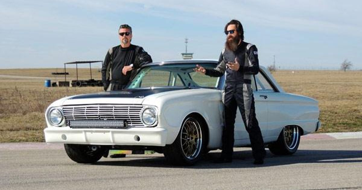 former gas monkey aaron kaufman s road race falcon on ebay. Black Bedroom Furniture Sets. Home Design Ideas