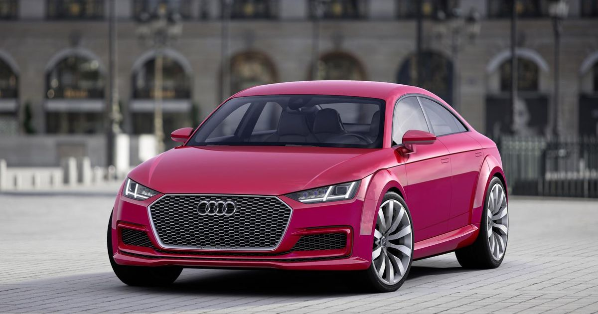 The Next Audi TT Will Be A Four-Door 'Coupe'