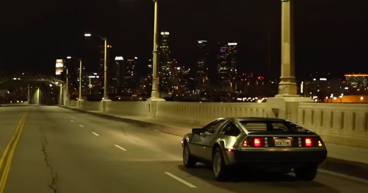 This DeLorean DMC-12 Looks Unfeasibly Cool Driving Around ...
