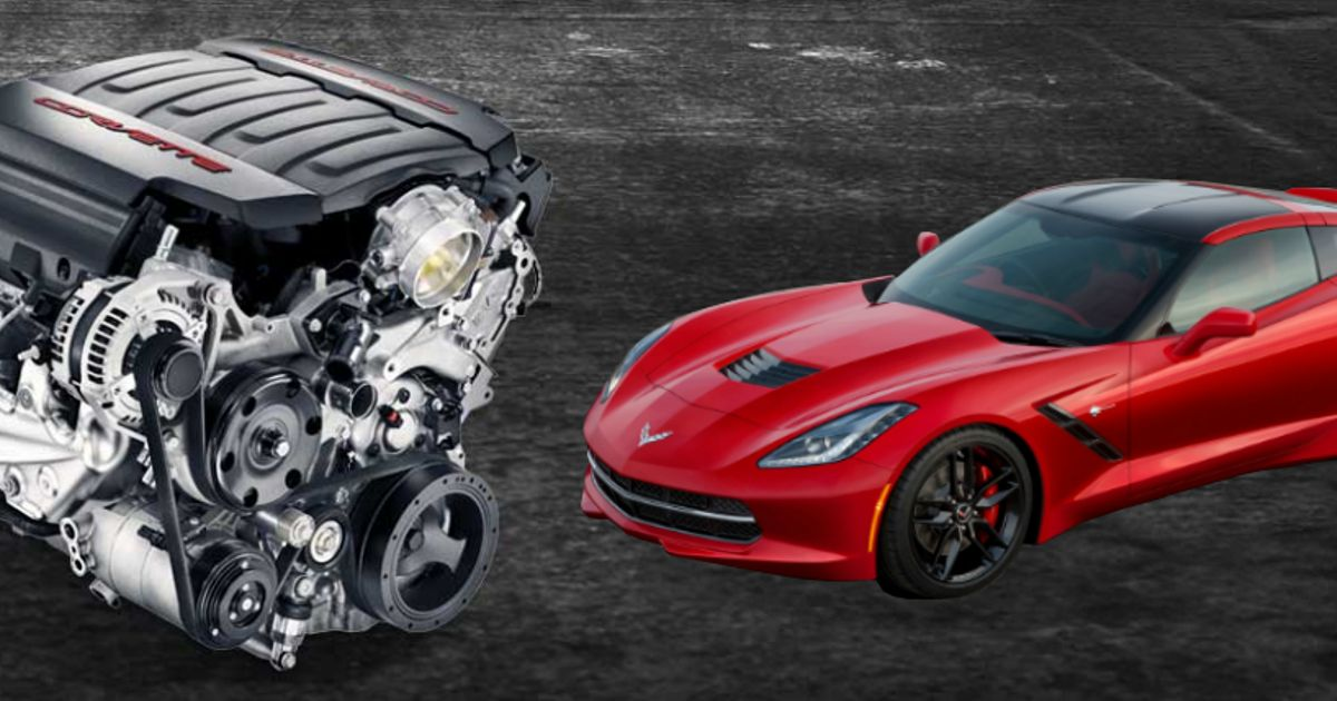 The Corvette C7's LT1 V8 Is Now Available As A Crate Motor: What Would You Put It In?