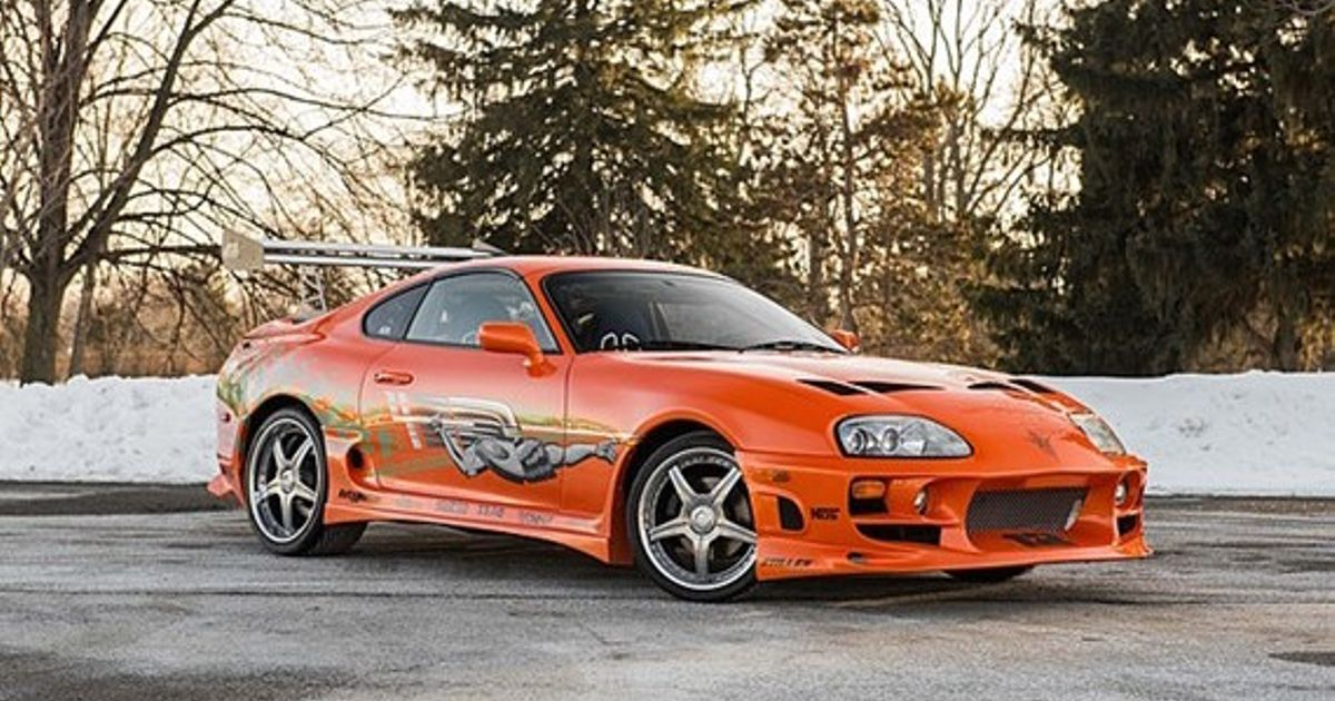 How Paul Walker s Fast & FuriousSupra Was Nearly A 3000GT, And Other F&F Car Rejects