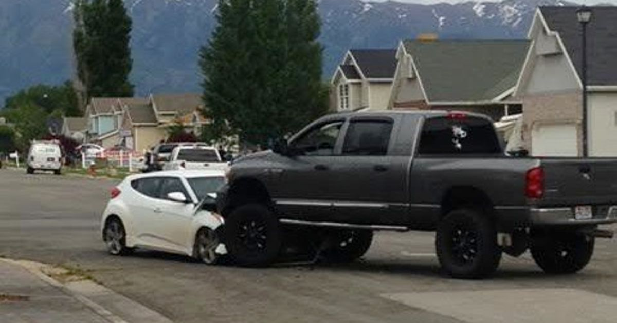 Good Guy Dodge Driver Stops A Deadly Police Chase By