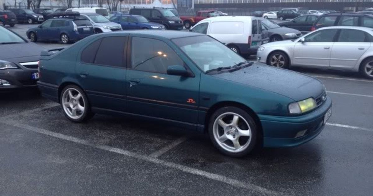 1996 nissan primera p10 sri for Garage skoda 92