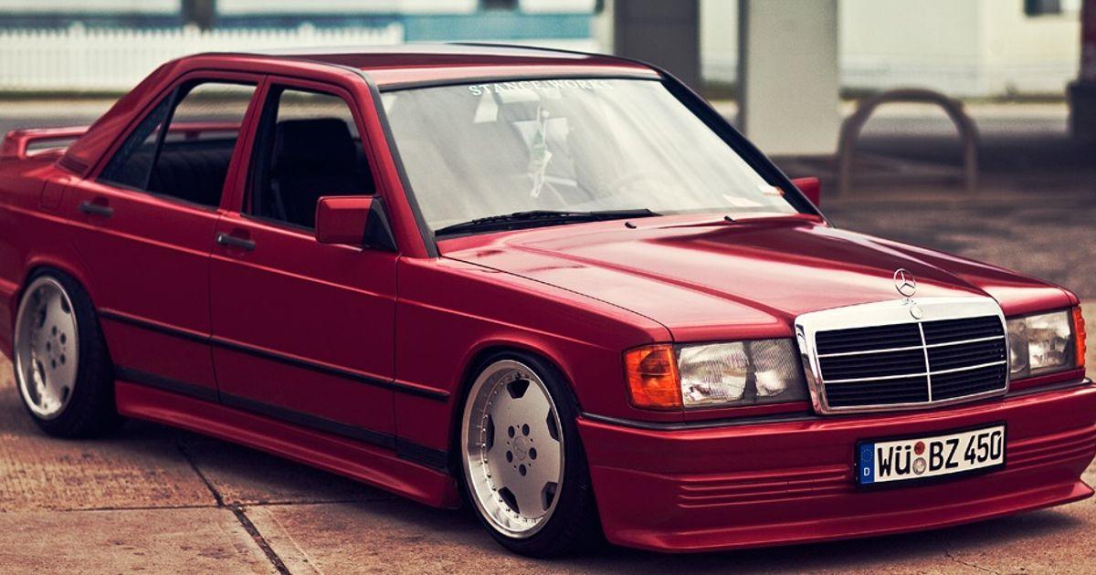 1991 mercedes benz e190 for Garage agree mercedes