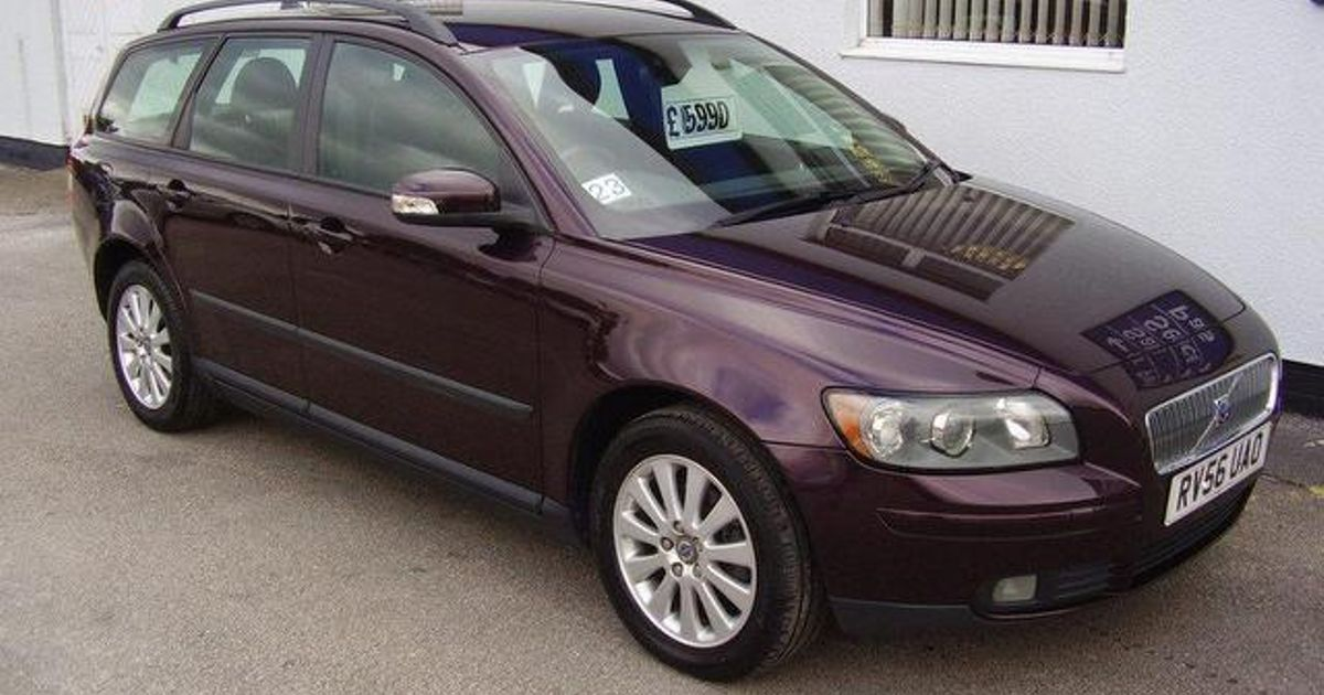 2006 Volvo V50 2.0 sel 100kW/136HP