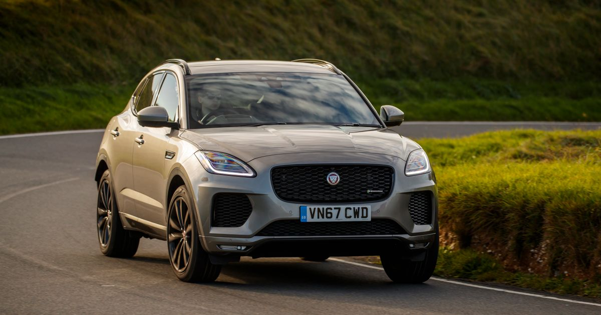 jaguar e pace review awesome to drive but not without. Black Bedroom Furniture Sets. Home Design Ideas