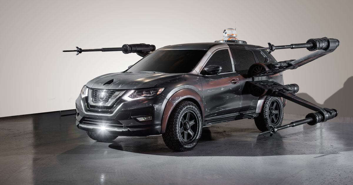 Where Are Nissans Made >> Nissan Has Made 7 Star Wars Themed Cars And We Re Not Sure How To Feel