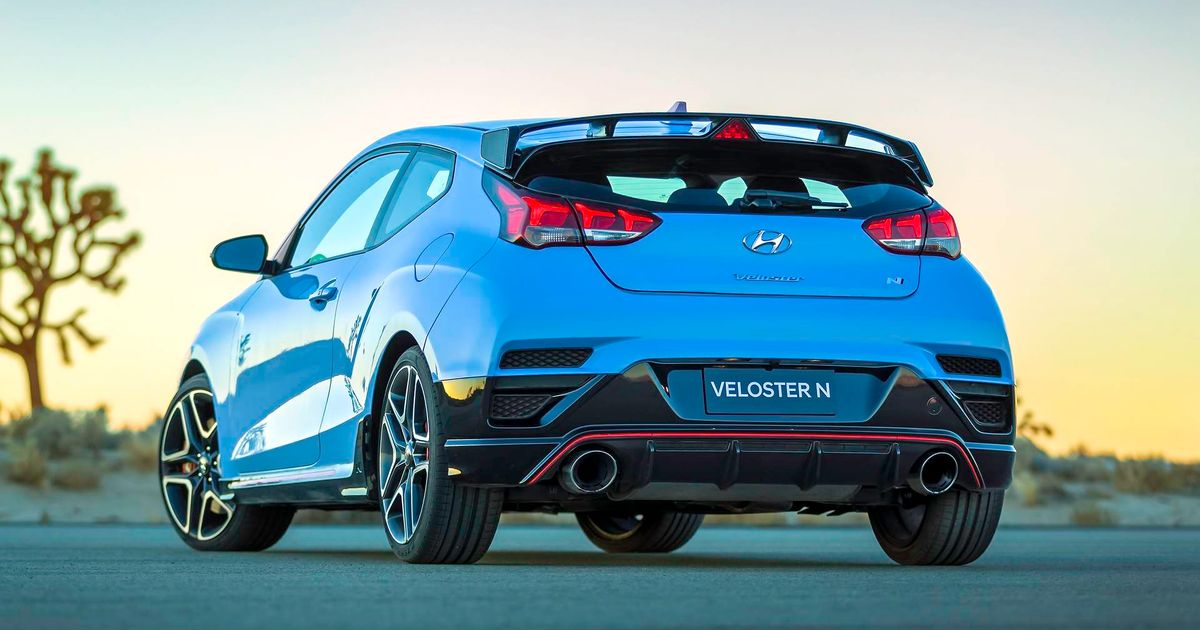 The 271bhp Hyundai Veloster N Is Here And It S Heading To