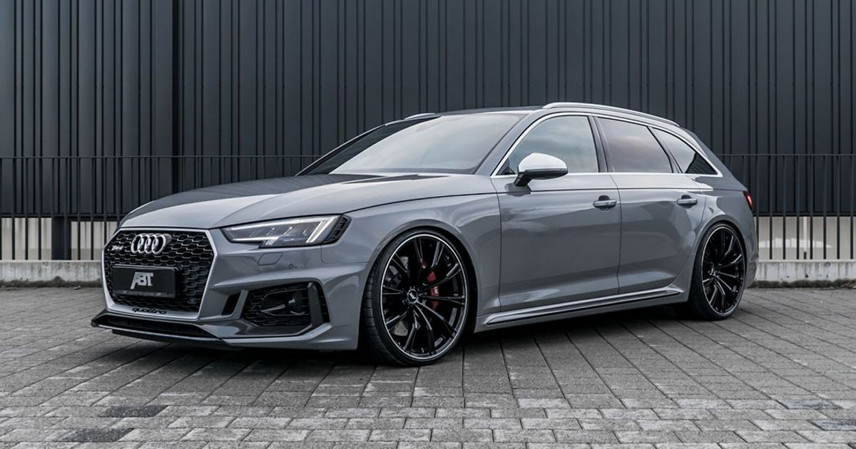 Abts Audi Rs4 Is Here With 503bhp And Spangly Wheels Auto
