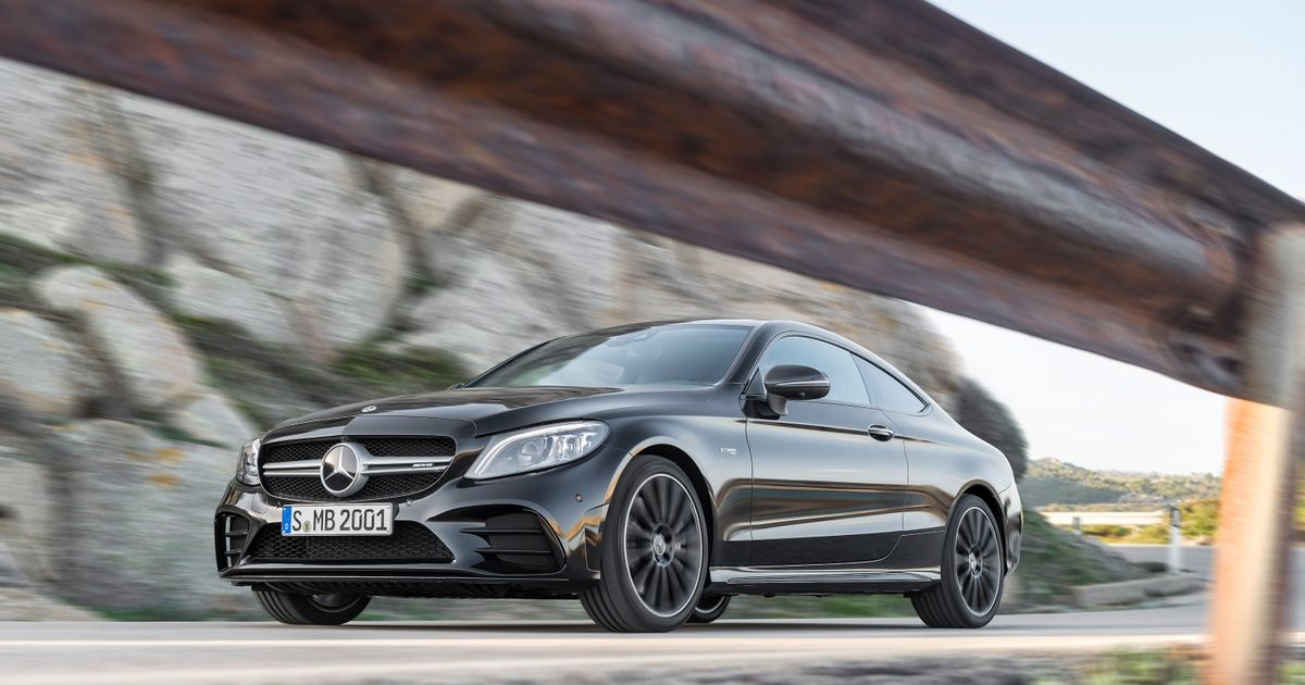 The Refreshed Mercedes-AMG C43 Coupe Is Here With