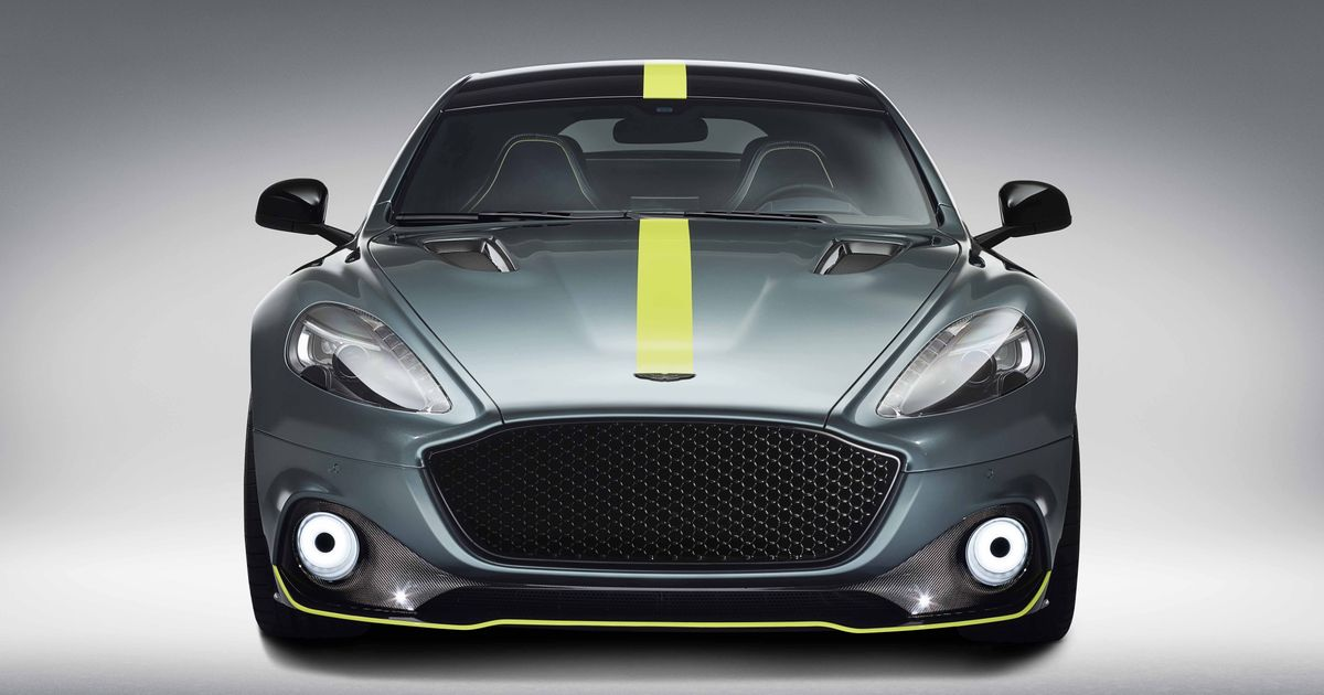 The Aston Martin Rapide AMR Makes Little Sense But We Love It Just The Same