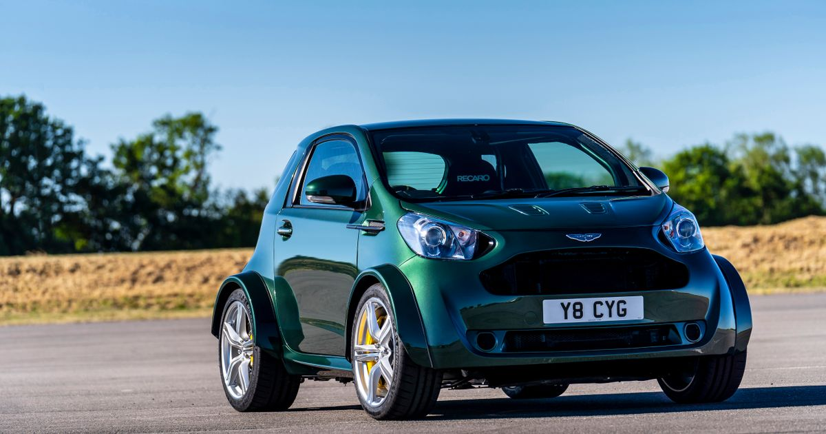 Aston Martin Built A 430bhp Cygnet V8, Because A Customer Asked For It