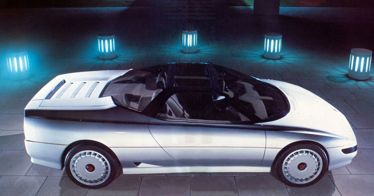 It s A Shame This Mid-Engined, AWD Sports Car Of The 80s Never Happened