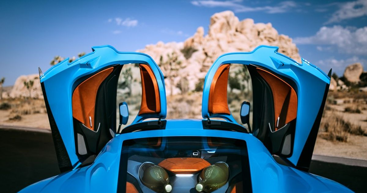 The One-off California Edition Rimac C_Two Includes A Champagne Holder