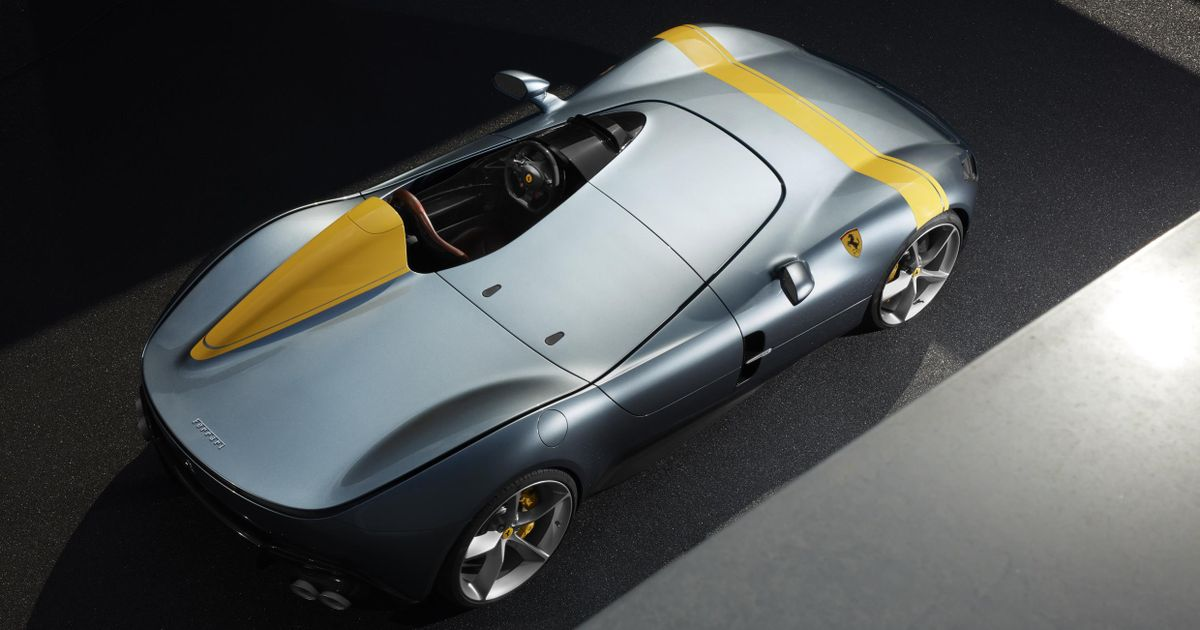 The Ferrari Sp1 Is A Single Seater Speedster Beauty With 812 Guts
