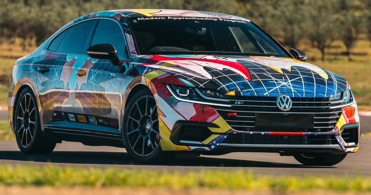 VW Has Cooked Up A 483bhp Arteon Time Attack Car
